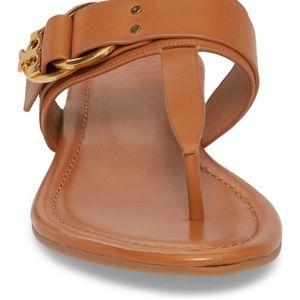 559ce9c0c0e Tory Burch Shoes - Tory Burch Marsden Flat Thong Sandal in Cognac 6.5